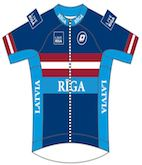 Latvian National Jersey
